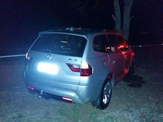 Motorista perde controle de carro e colide com árvore na BR 104 próximo ao trevo de Cuité