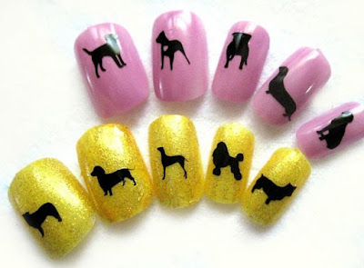 Dog Nail Stickers