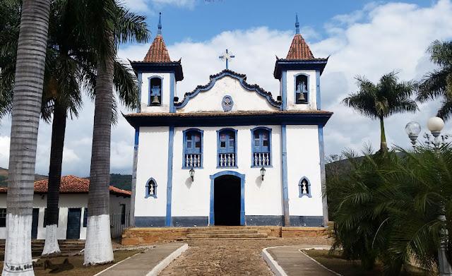 Igreja do Rosário, Cocais, MG.