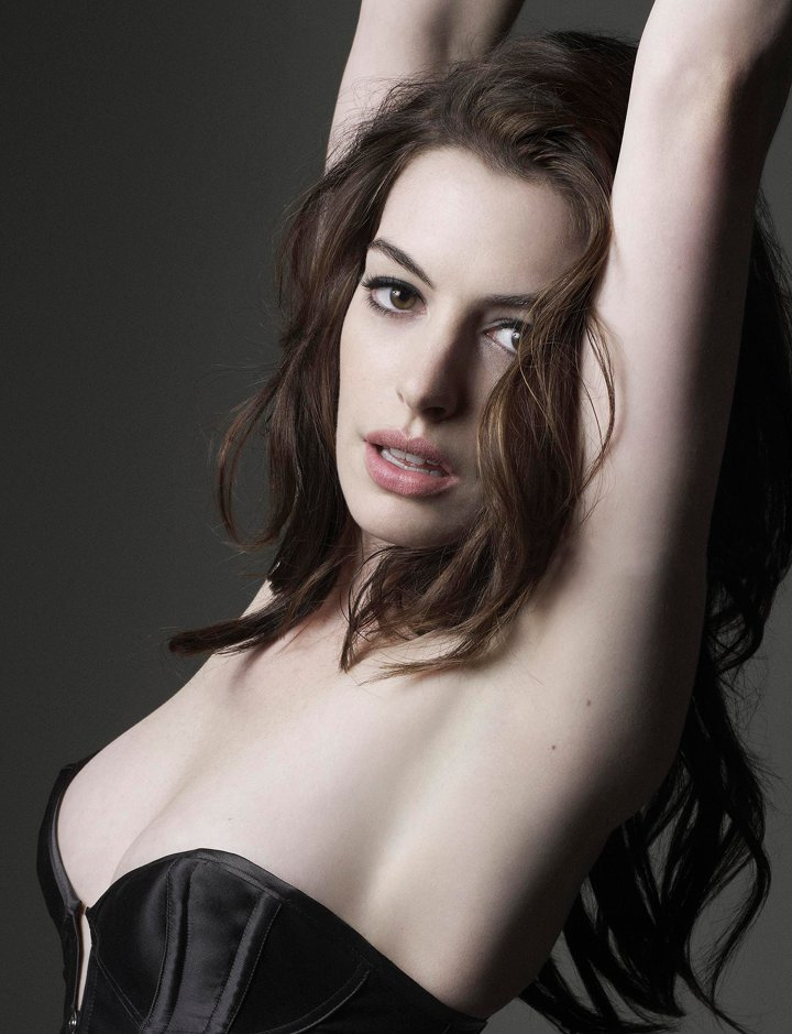 Anne hathaway hot precisely