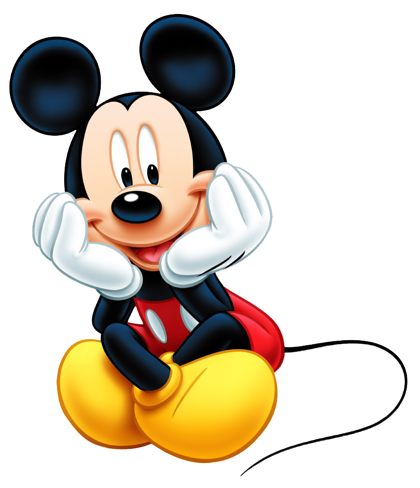 Photo Editing Material : Micky Mouse PNG