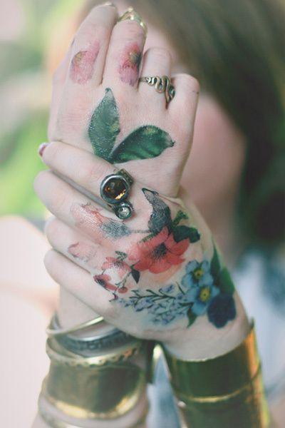 Stunning Flower Tattoos