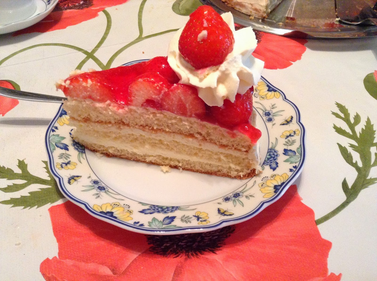 Rezept Erdbeer Mascarpone Torte