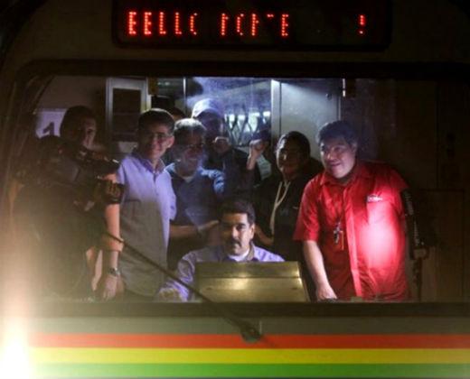 ¡EL CHISTE! Maduro dice que le gustaría trabajar en el Metro tras entregar la Presidencia