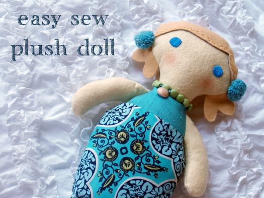 Mermaid Doll Pattern Design Patterns