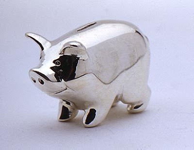 miniature piggy bank