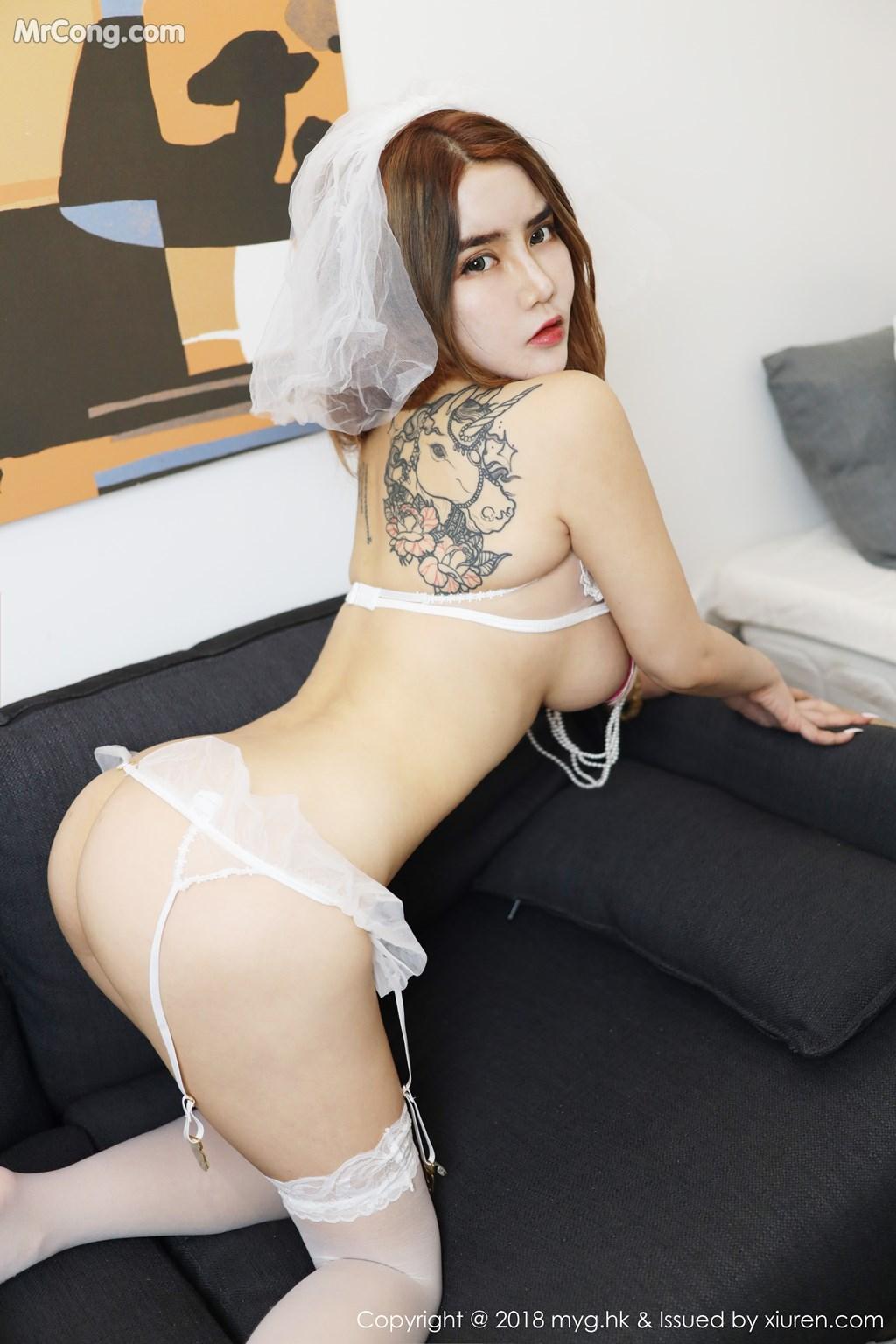 Image MyGirl-Vol.330-Wen-Xinyi-MrCong.com-008 in post MyGirl Vol.330: Người mẫu Wen Xinyi (温心怡) (41 ảnh)