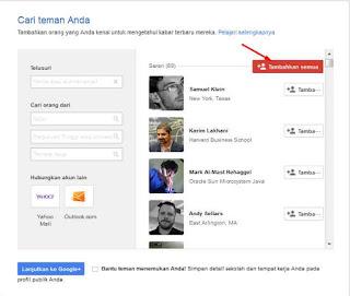 Cara Add Teman Google Otomatis Sekali KLIK