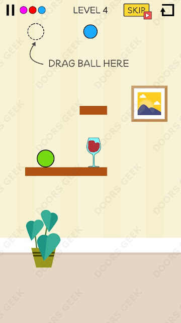 Spill It! Level 4 Walkthrough, Solution, Cheats for Android, iPhone, iPad and iPod