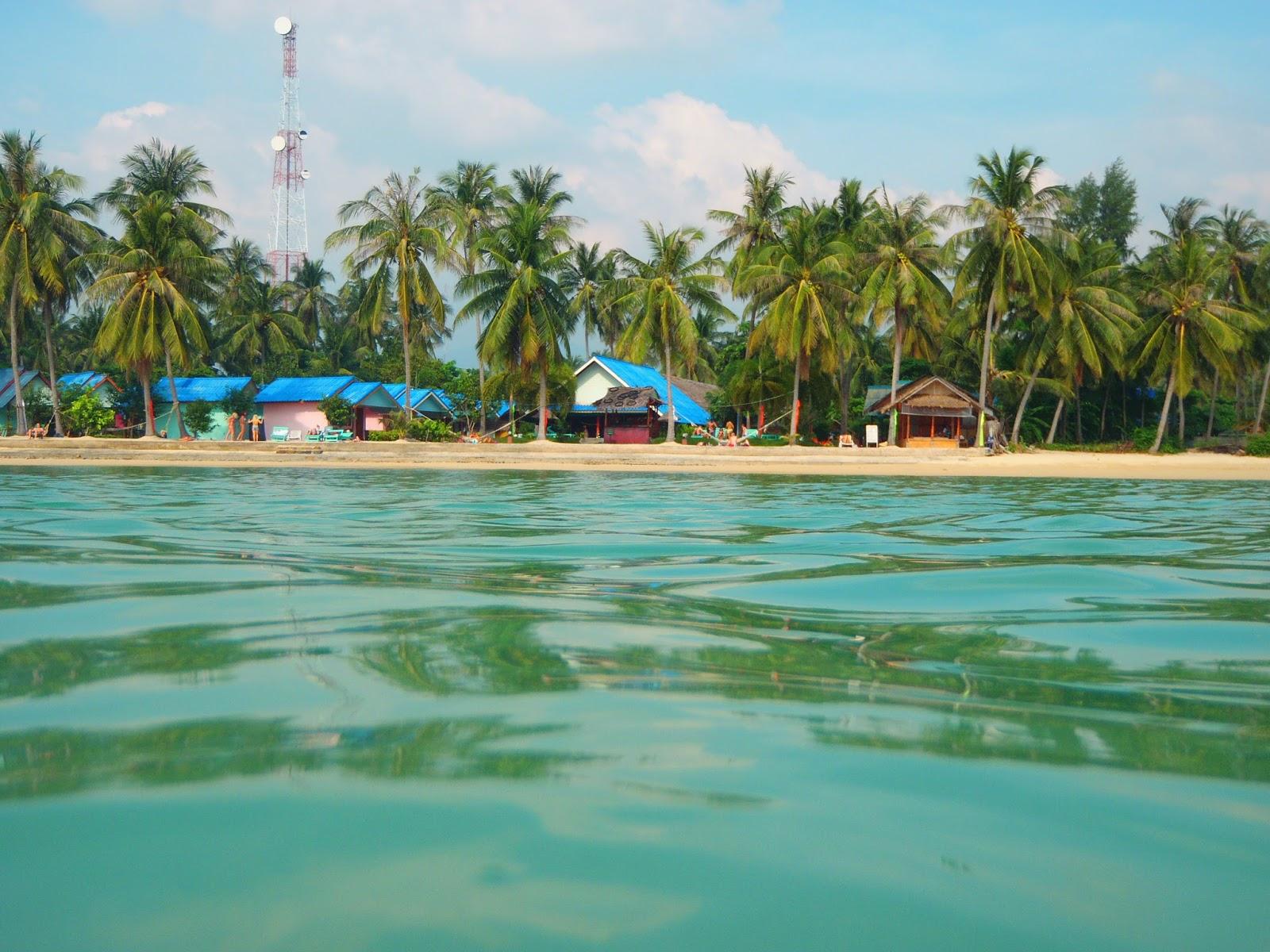 Ko Pha Ngan Thailand from the water