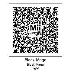 Mii QR Codes (For Tomodachi Life)