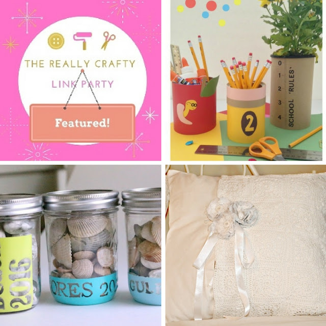 The Really Crafty Link Party #31 featured posts
