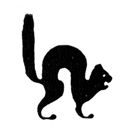 The black cat symbol of SSU 539