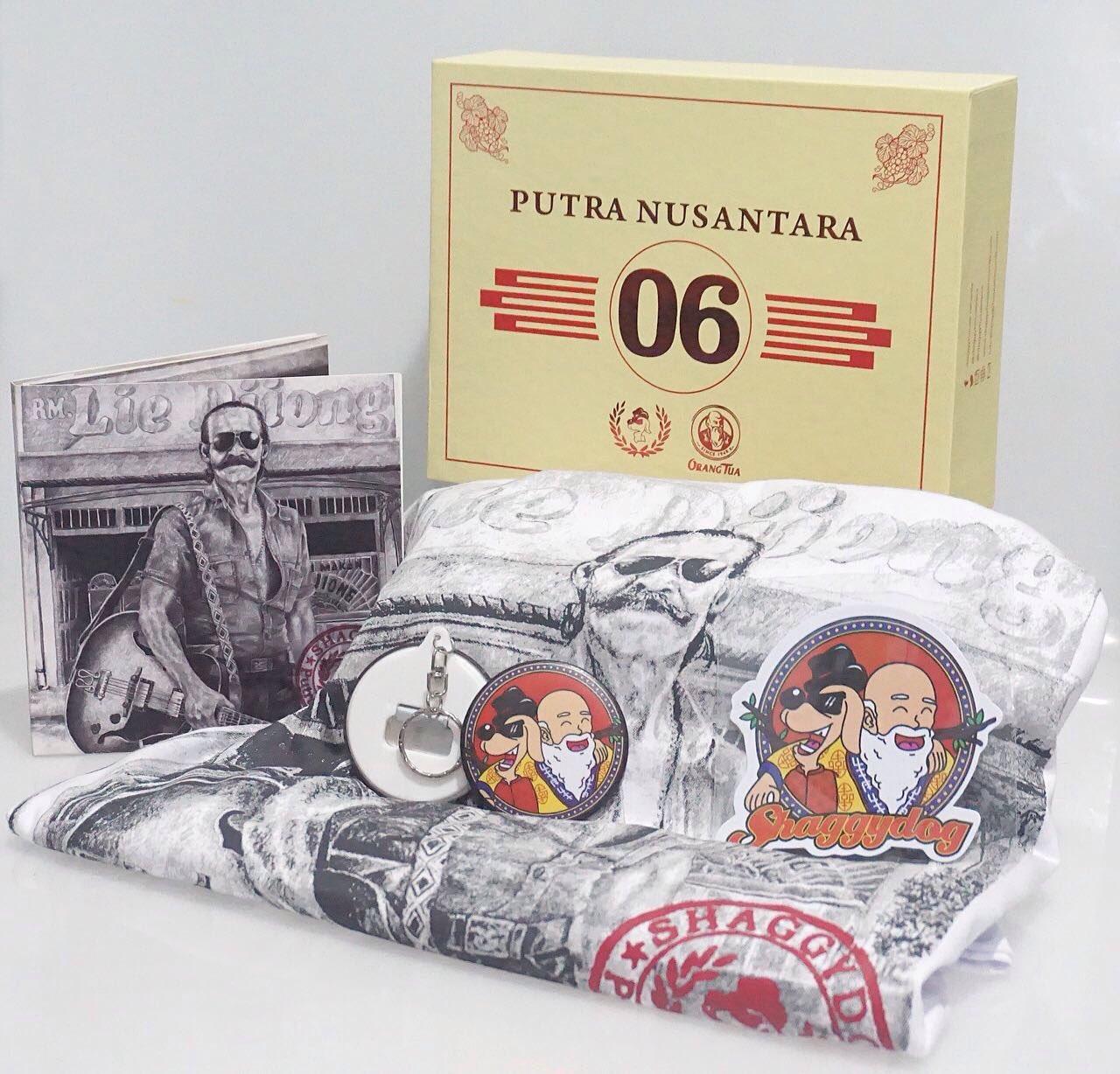 Boxset Album Putra Nusantara Shaggydog