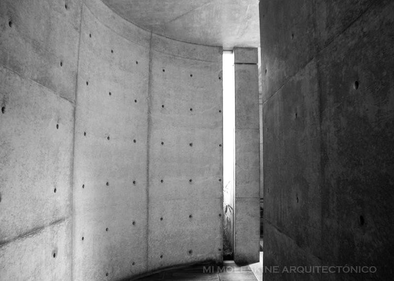 My Architectural Moleskine 174 Tadao Ando Chapel In Mt Rokko