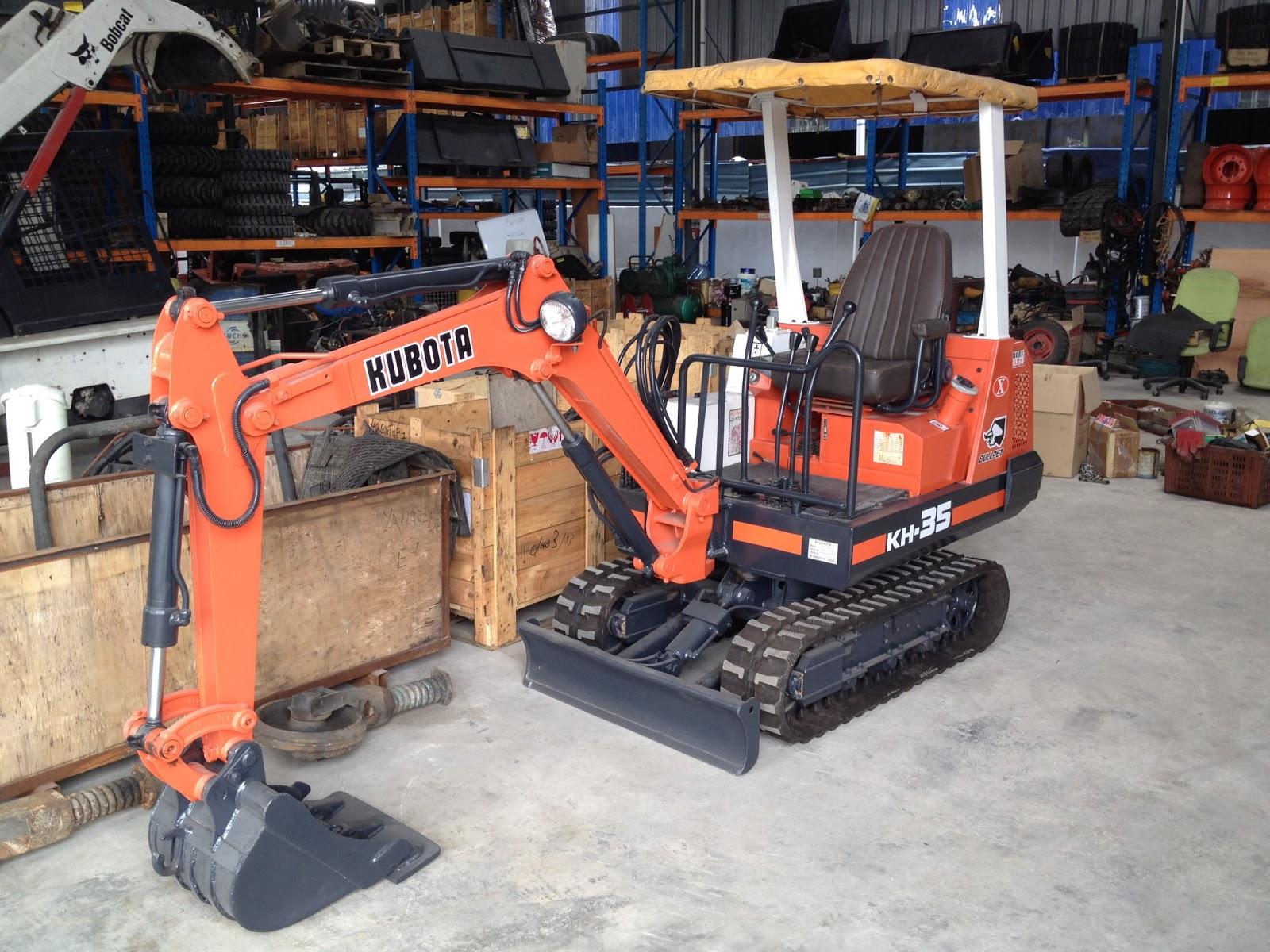 U O E Equipment Sdn Bhd Reconditioned Mini Excavator