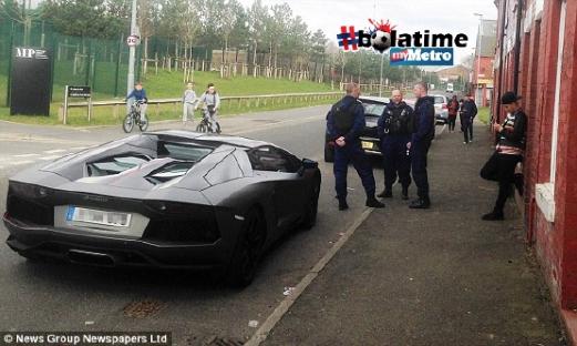 Lamborghini Milik Samir Nasri Dirampas Polis
