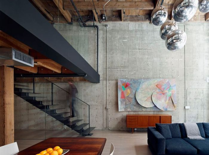 Awesome Apartment Inside An Old Warehouse