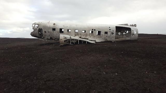 Sólheimasandur airplane wreckage abandoned plane Iceland