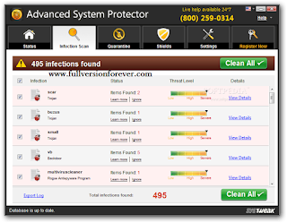 Advanced System Protector License Key Crack Download