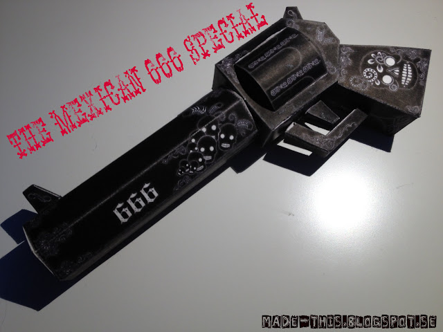 The Mexican 666 Special Paper Toy Gun