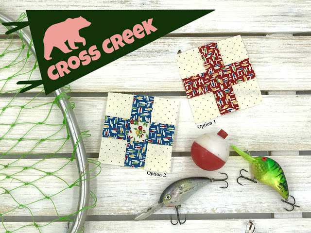 Cross Creek Block For Moda Bake Shop By Thistle Thicket Studio. www.thistlethicketstudio.com