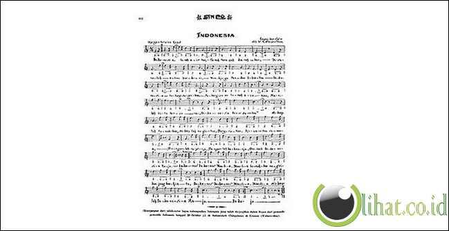 """Lagu """" Indonesia Raya """" di ciptakan pada tahun 1942"""