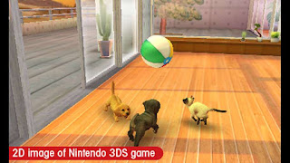 Nintendogs + Cats - Golden Retriever and Friends 3DS CIA Reg Free
