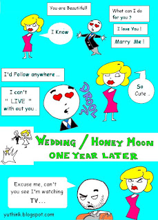 funny never marry comic image