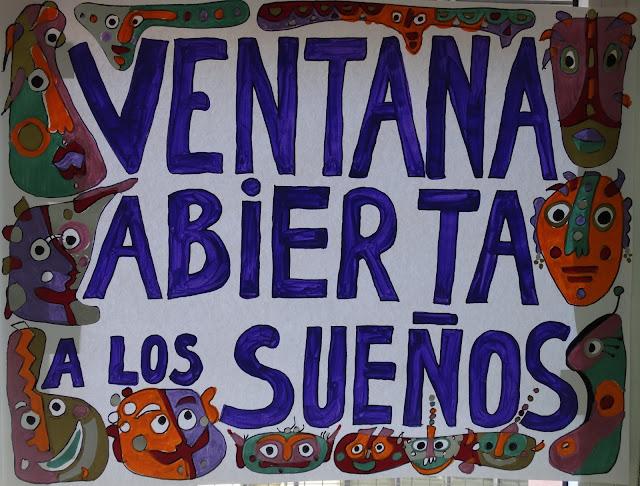 VENTANA ABIERTA A LOS SUEÑOS Exposición CEIP LA CHANCA