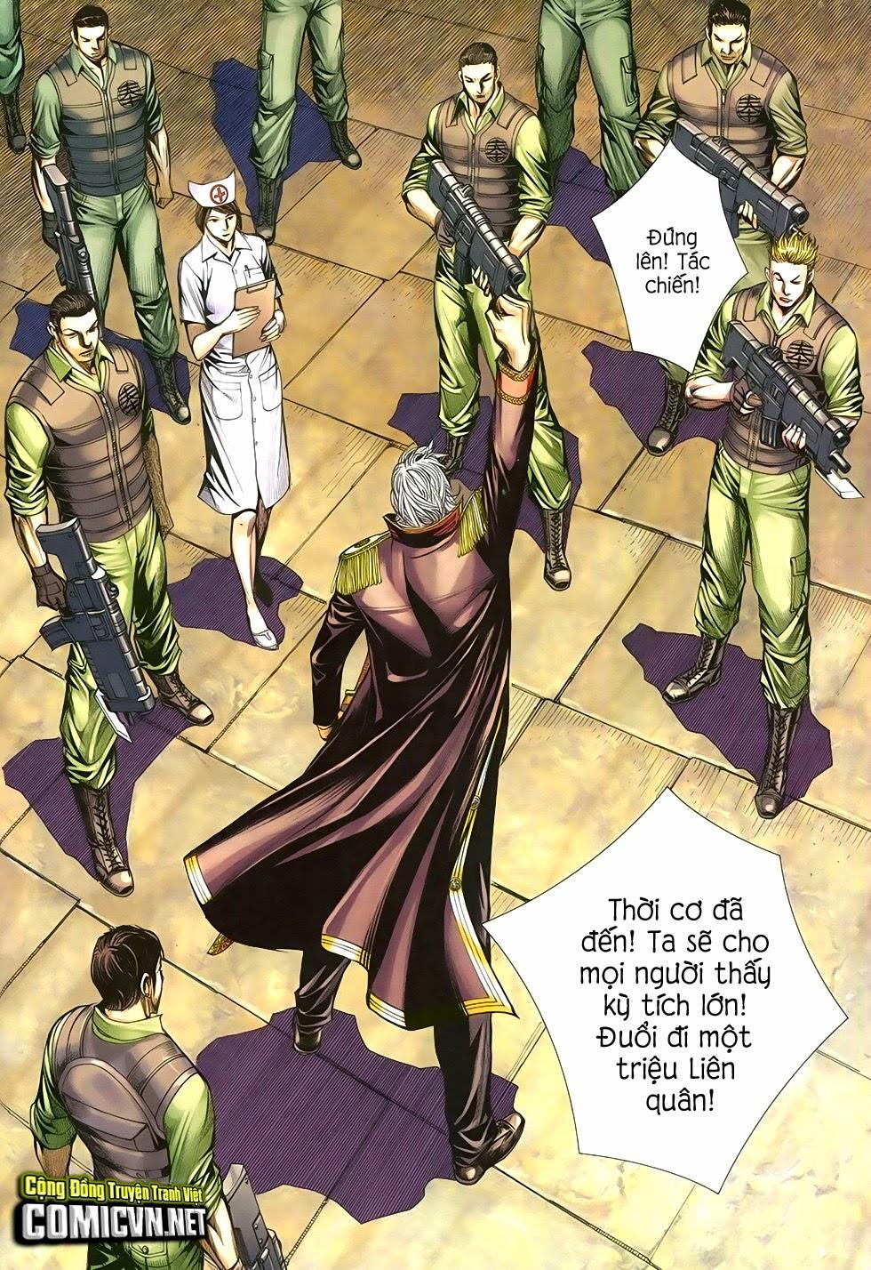 Đại Quân Phiệt chap 29 trang 13