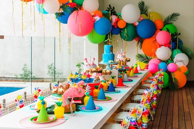 Rayakan ulang tahun tanpa menyewa tempat