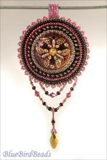 TOHO beads pendant