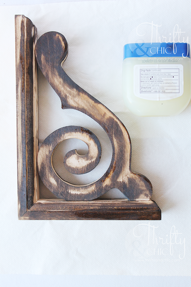 how to use vaseline to distress wood and furniture. How to antique wood and furniture. The secret to distressing wood and making furniture look old