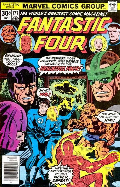 Fantastic Four #177, the Frightful Four are back