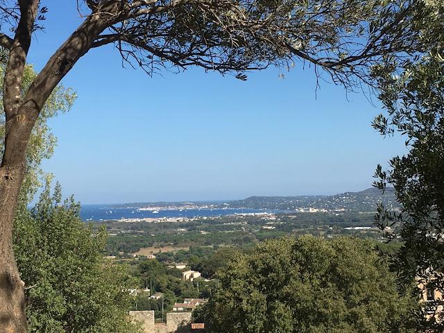 Utsikt over St.Tropez bukten