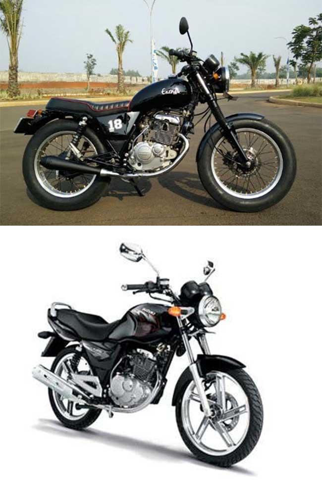 Modifikasi Motor Suzuki Thunder 125cc Retro Lawas