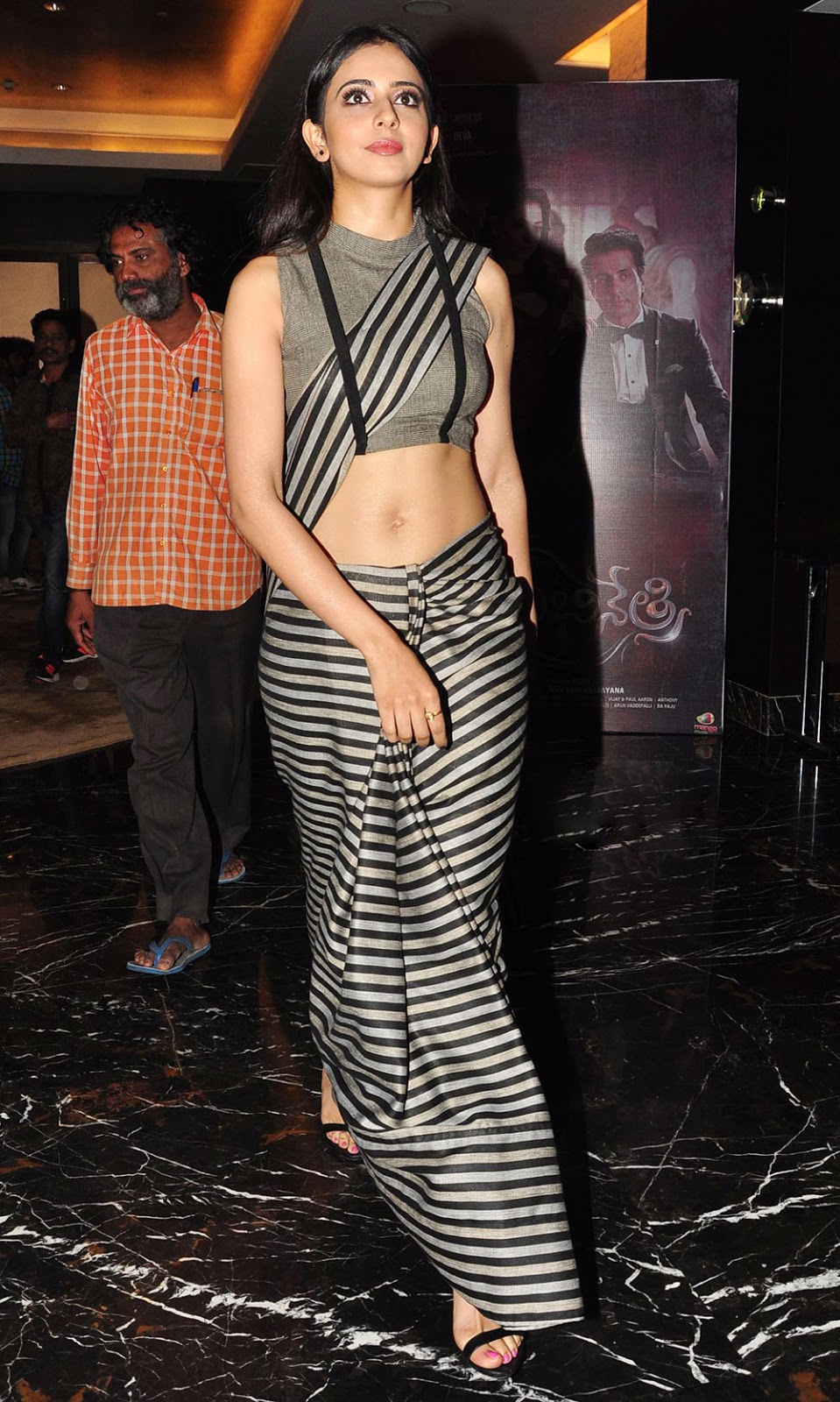 Rakul Preet Singh Hot Navel Show Images