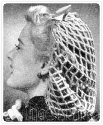 Lili Goes Retro Wir Häkeln Uns Ein Haarnetz Lets Crochet A Snood