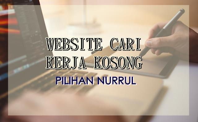 Website Cari Kerja Kosong Pilihan Nurrul