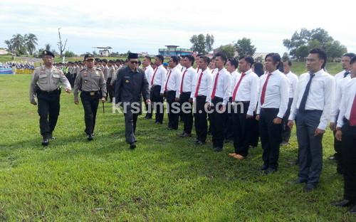 200 Polisi Siap Amankan Pilkades Serentak