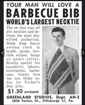 Your man will love a barbecue bib