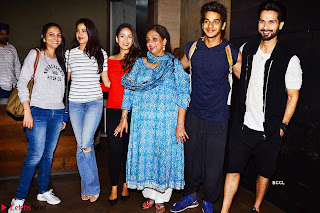 Jhanvi Kapoor and Ishaan Khattar The Dhadak Movie Pair Spotted Dining Together