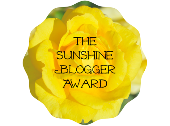 The Sunshine Blogger Awards 1 & 2