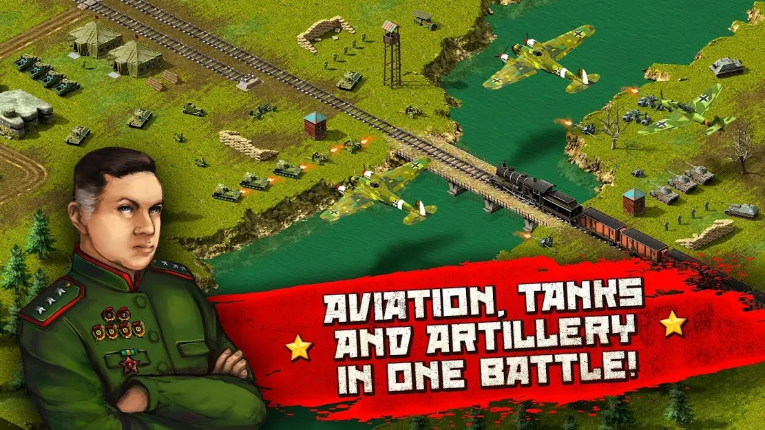 Second World War: real time strategy game! (Appscraft)