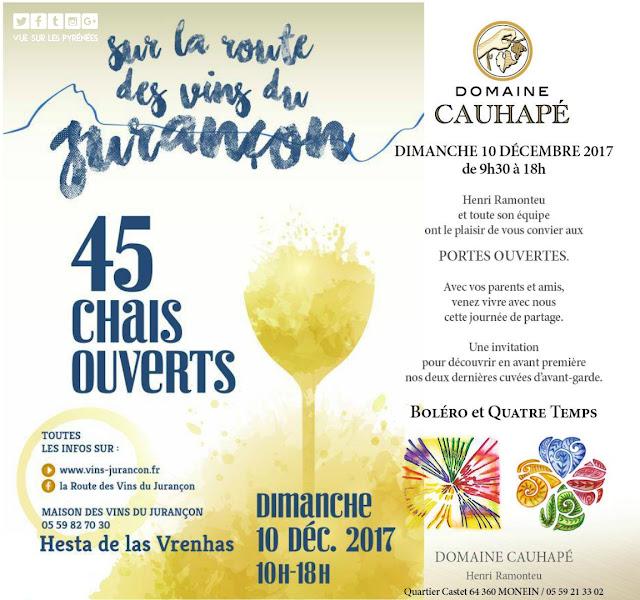 Route des Vins du Jurançon Domaine Cauhapé 2017