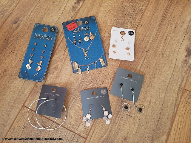 Primark, jewellery, Jewellery Haul, Evans, haul