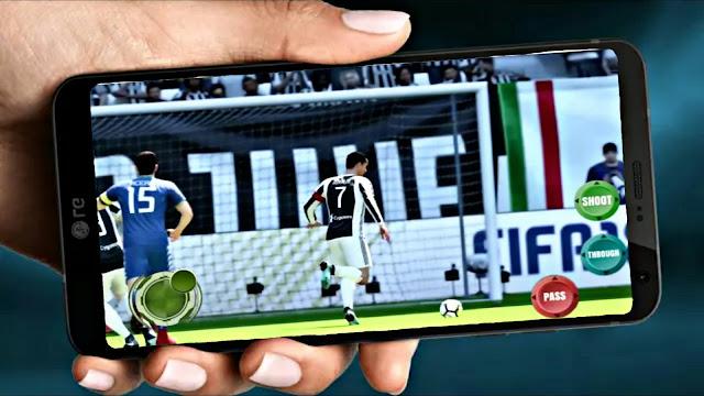 تحميل لعبة فيفا 18 اوفلاين للاندرويد FIFA 18 باخر الانتقالات والاطقم جرافيك خرافي