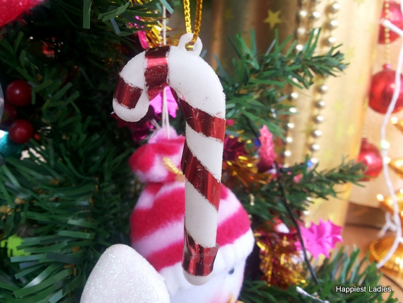 christmas candy stick decorative