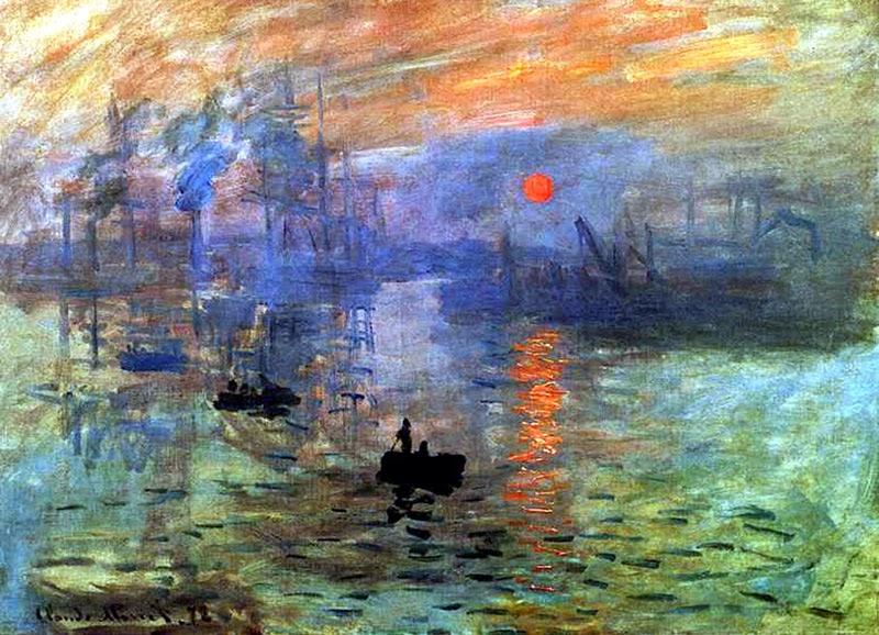 Impressionism Monet Sunrise The History of ...